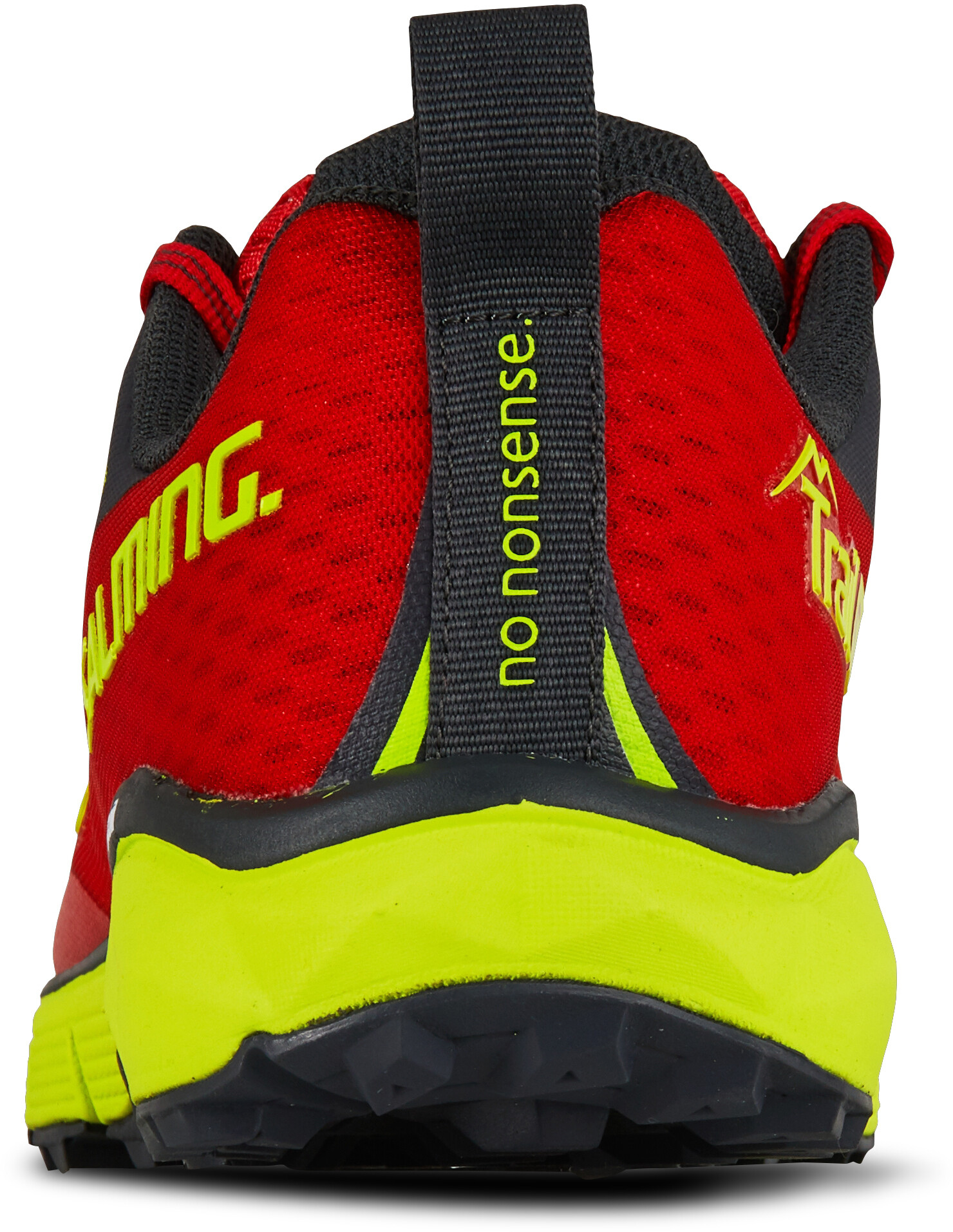 Salming Trail 5 Shoes Dame poppy redsafety yellow